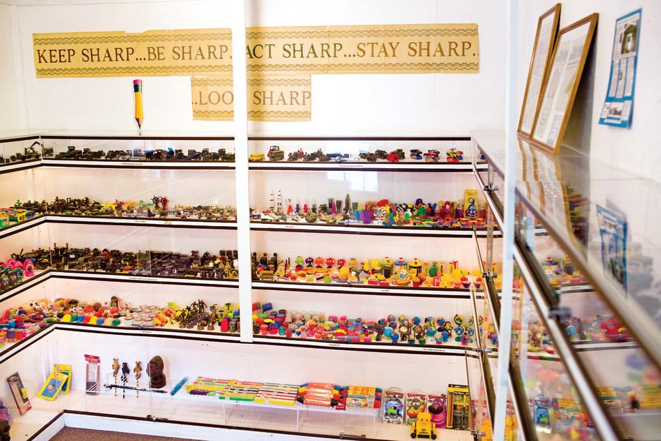 Pencil Sharpener Museum (Photo by Joshua Bickel)