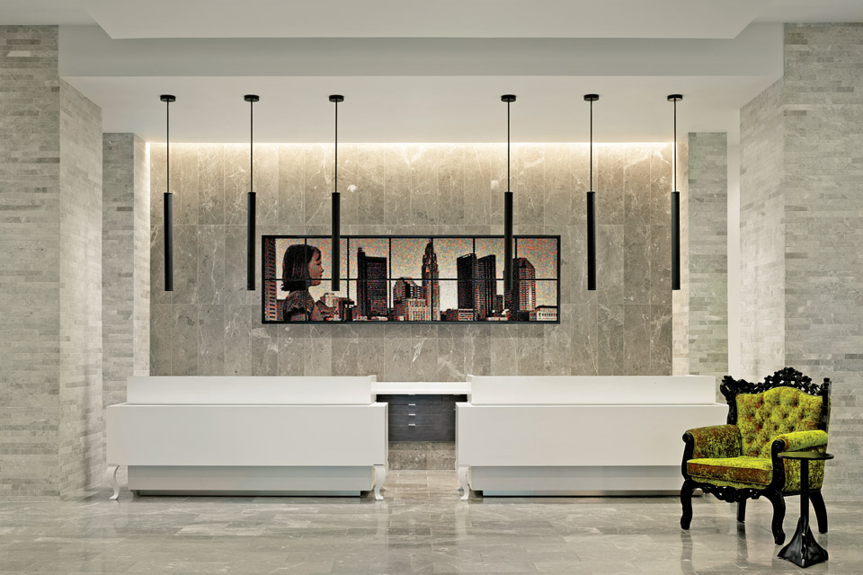 Hilton Columbus Hotel Art