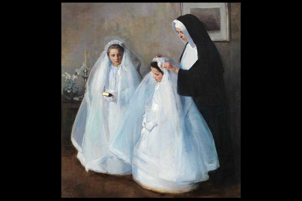 Elizabeth Nourse The First Communion