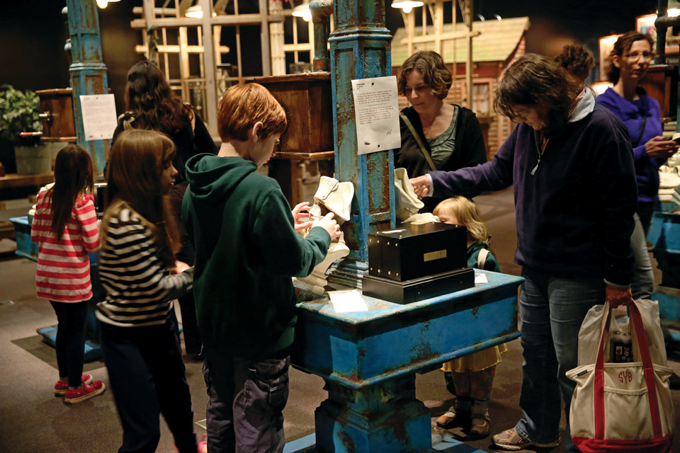 COSI Interactive Exhibit