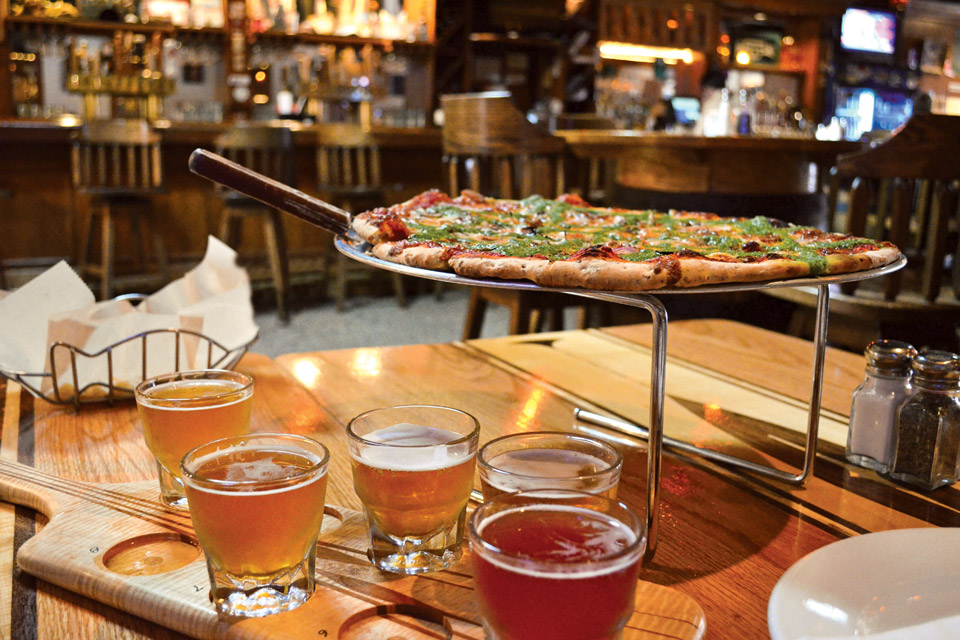 Jackie O's Flight and Pizza