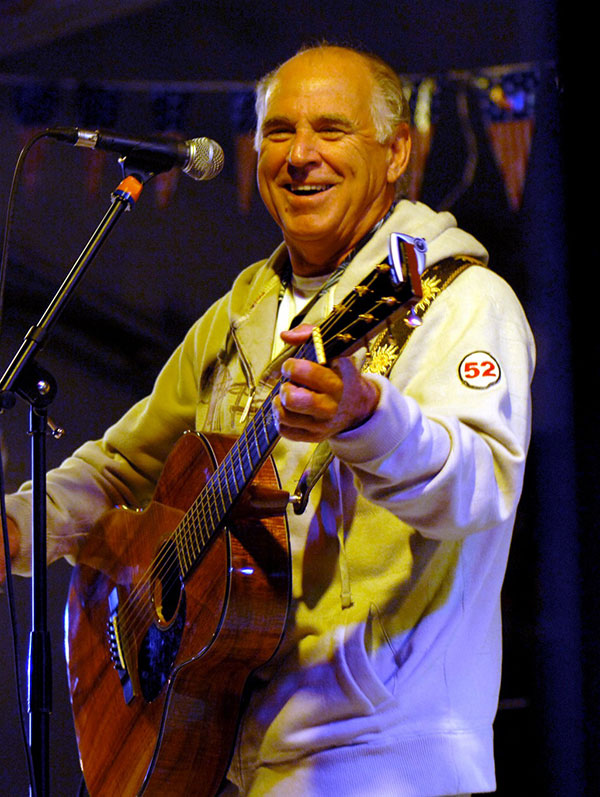 Jimmy Buffett (photo by Michael P. Pendergrass)