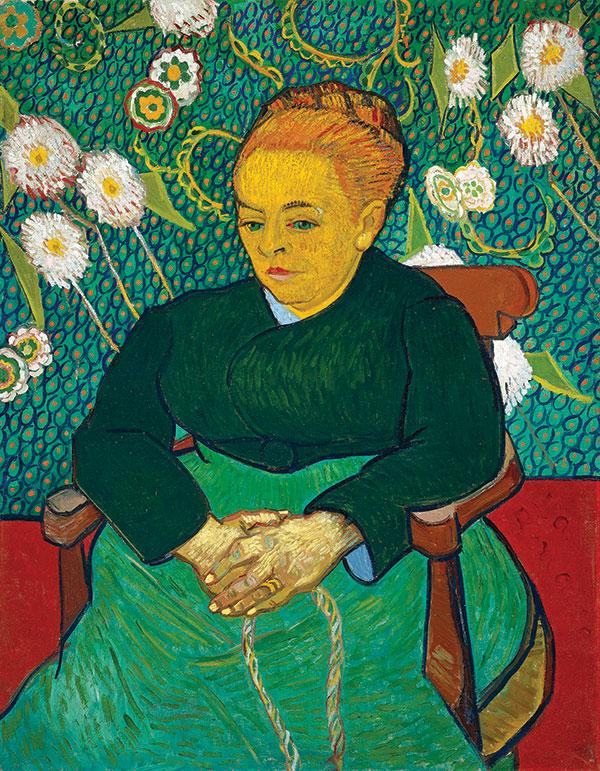 Madame Roulin (photo courtesy of the Museum of Fine Arts, Boston)