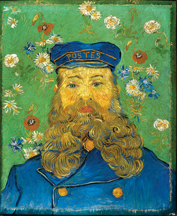 Portrait of the Postman (photo courtesy of The Museum of Modern Art)