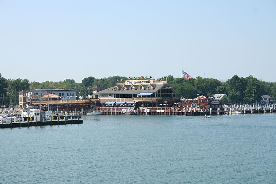 Boardwalk Restaurant, Put-in-Bay