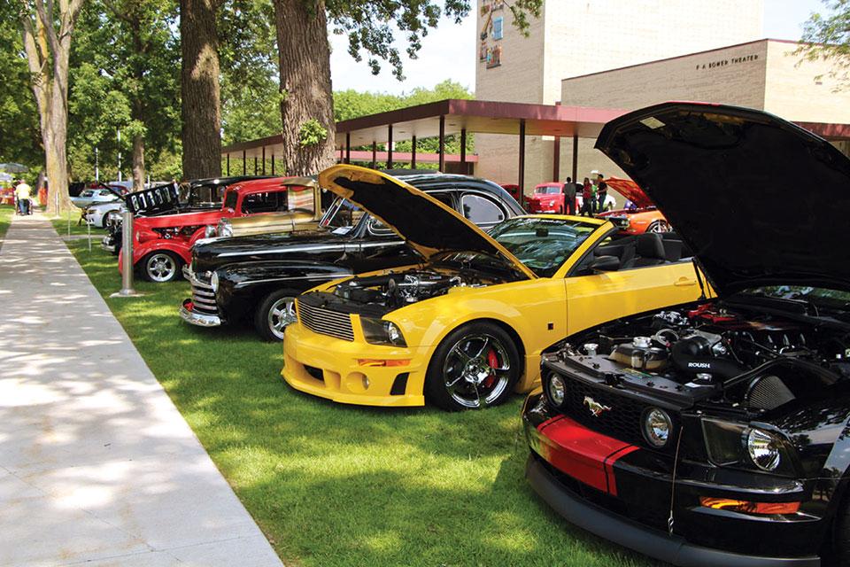 Sloan Museum Auto Fair