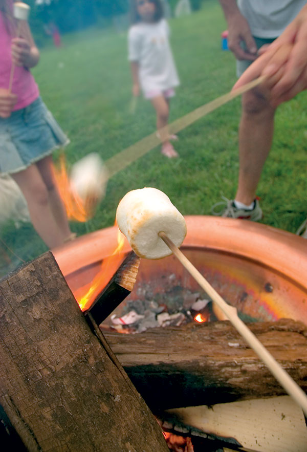 Tell Stories Campfire, Marshmallow (photo by Thinkstock)