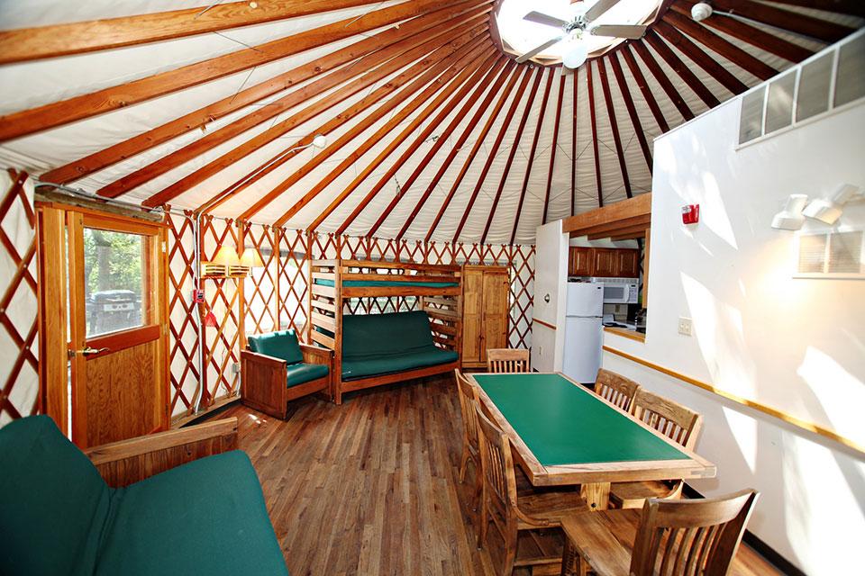 Kelleys Island Yurt
