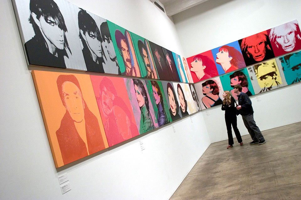 Warhol Museum Visitors