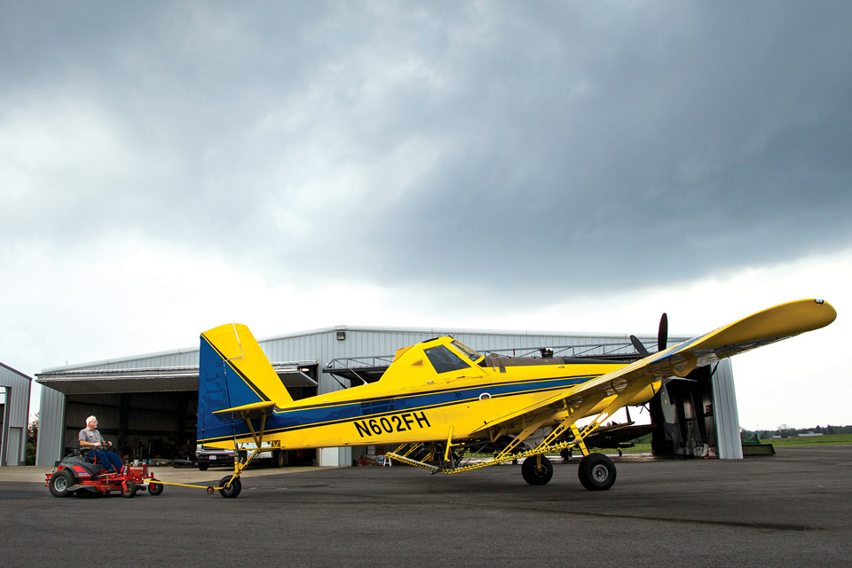 Butch Fisher, Crop Duster (Photo by Kirk Irwin)