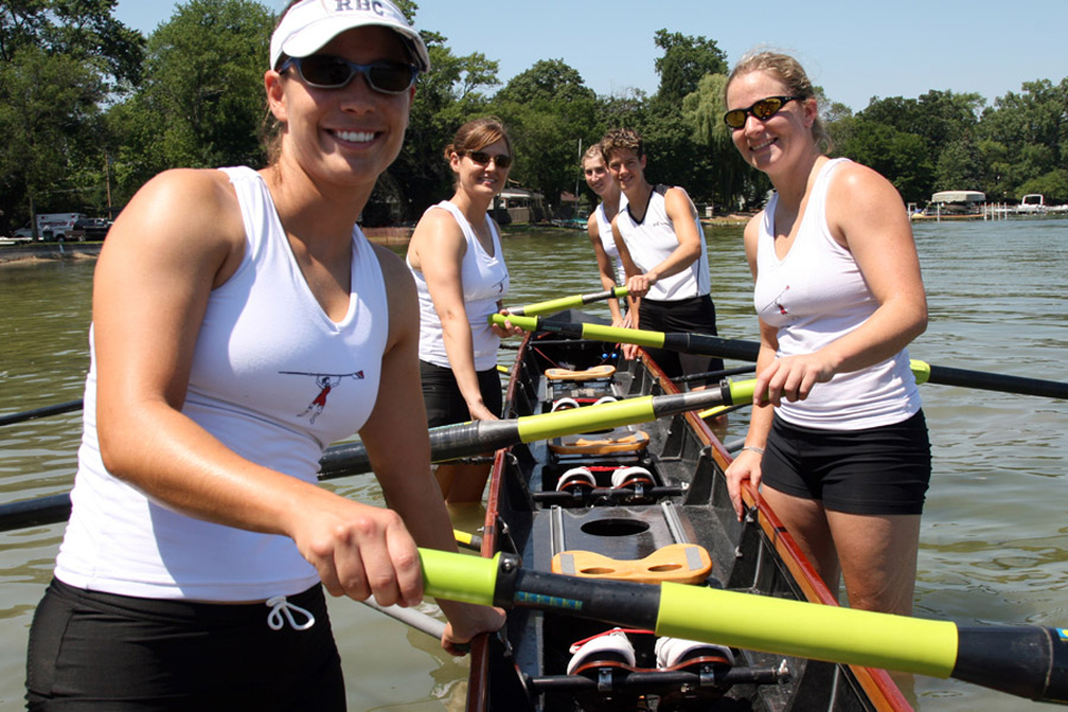 Cleveland Gay Games, Robin Pendergrast Rowing