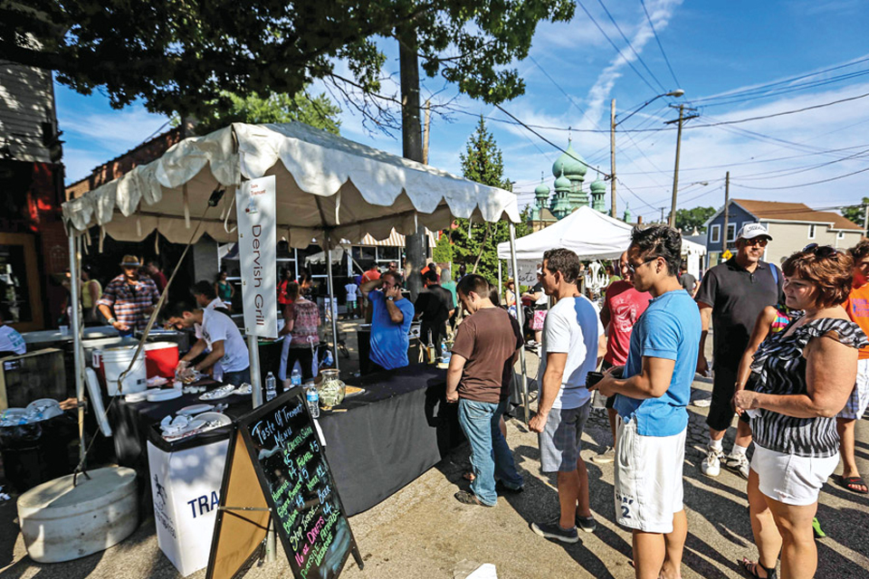 Cleveland, Taste of Tremont (Photo by Greg Murray)