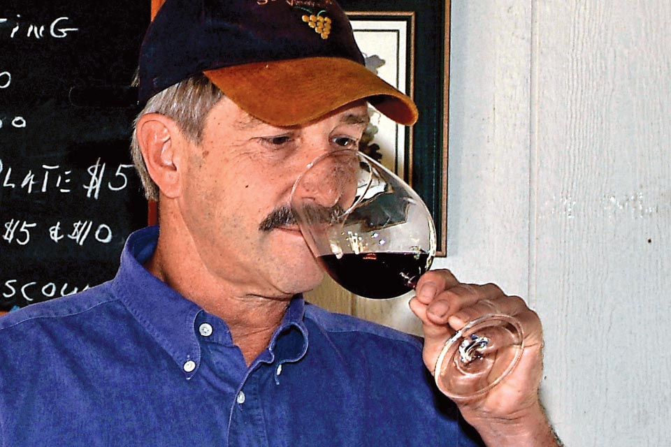 Art Pietrzyk Wine Taster