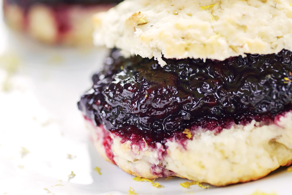 Lemon Blackberry Shortcakes