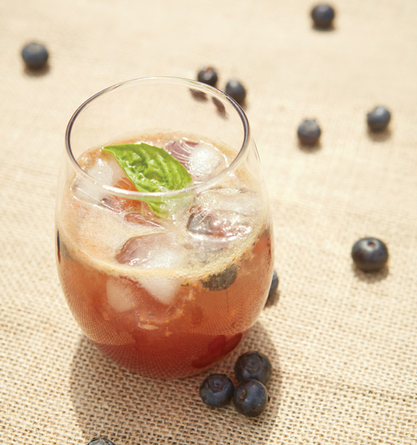 Berry Basil Lemonade