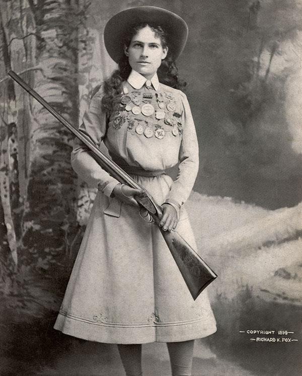 Portrait of Annie Oakley