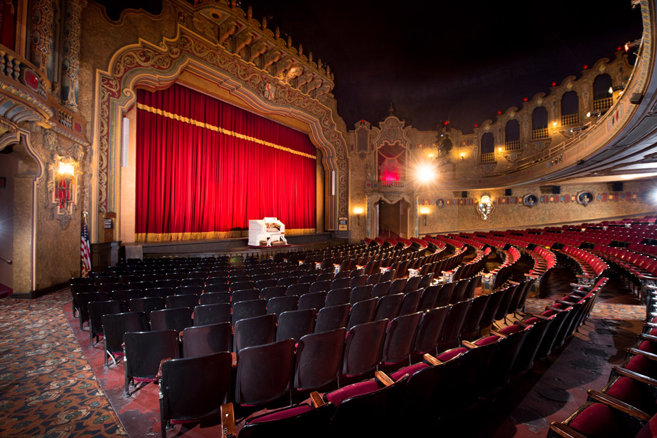 The Palace Theater in Canton