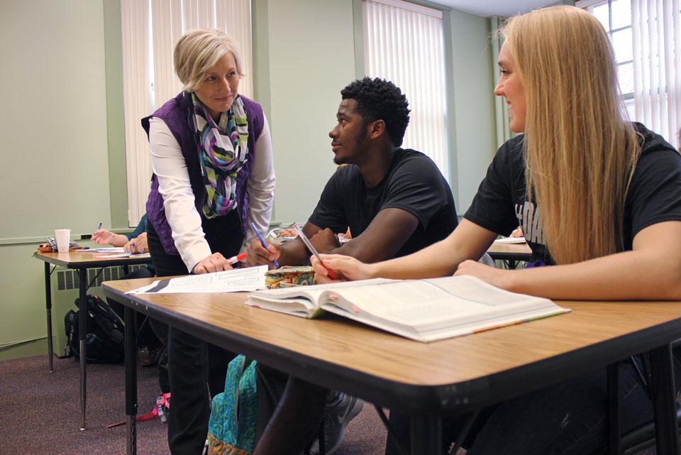 Bluffton University's Jeanna Haggard