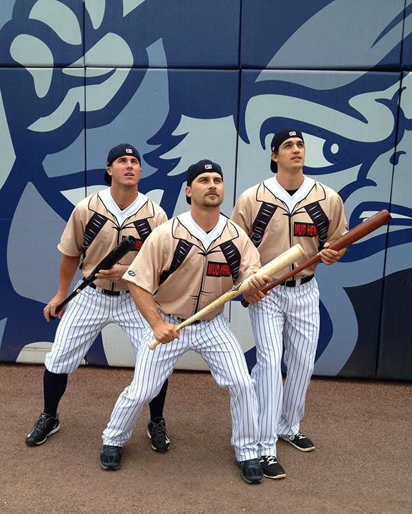 "Toledo Mud Hens' ""Ghostbusters"" uniforms"