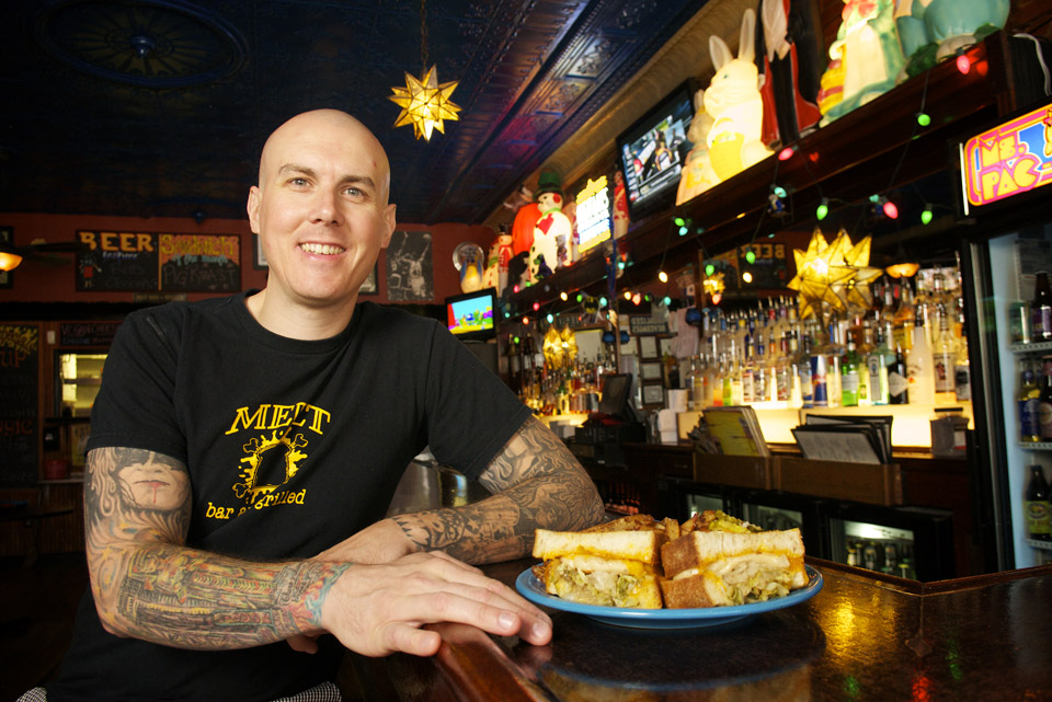 Matt Fish of Melt Bar (photo by Jason Miller)
