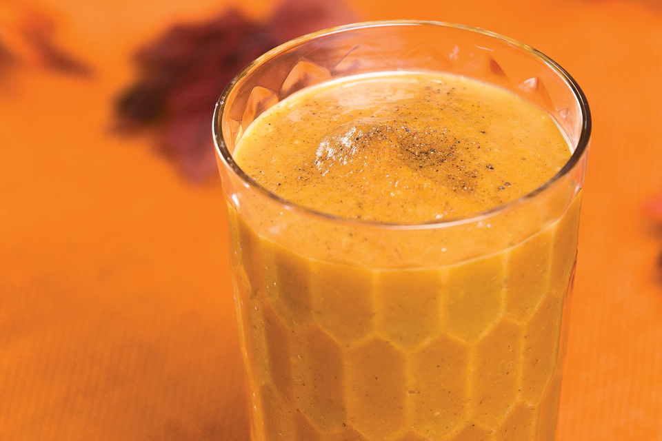 Pumpkin Spice Smoothie (photo by Maureen MacGregor)