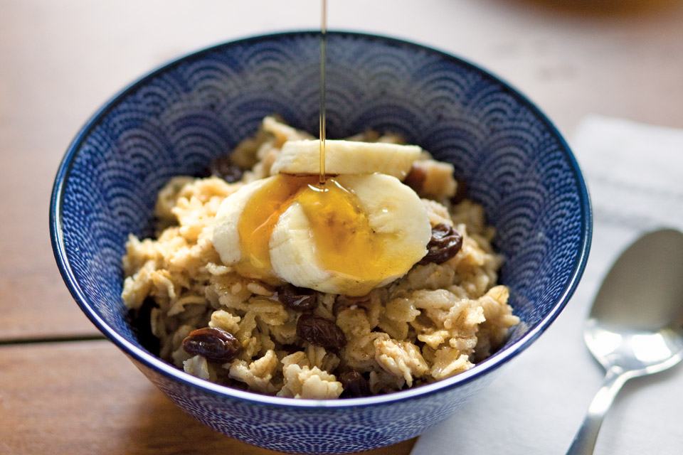 Wintertime Spiced Oatmeal