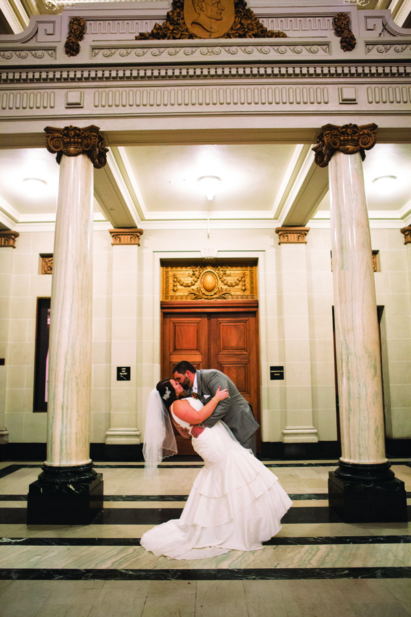 Dayton Memorial Hall Wedding