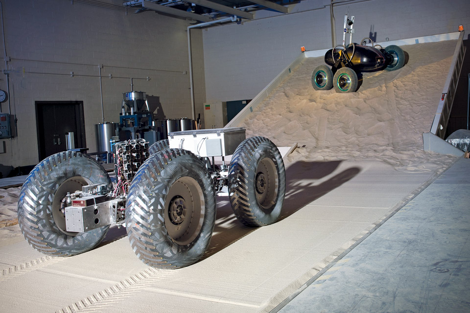 NASA's Simulated Lunar Operations Lab