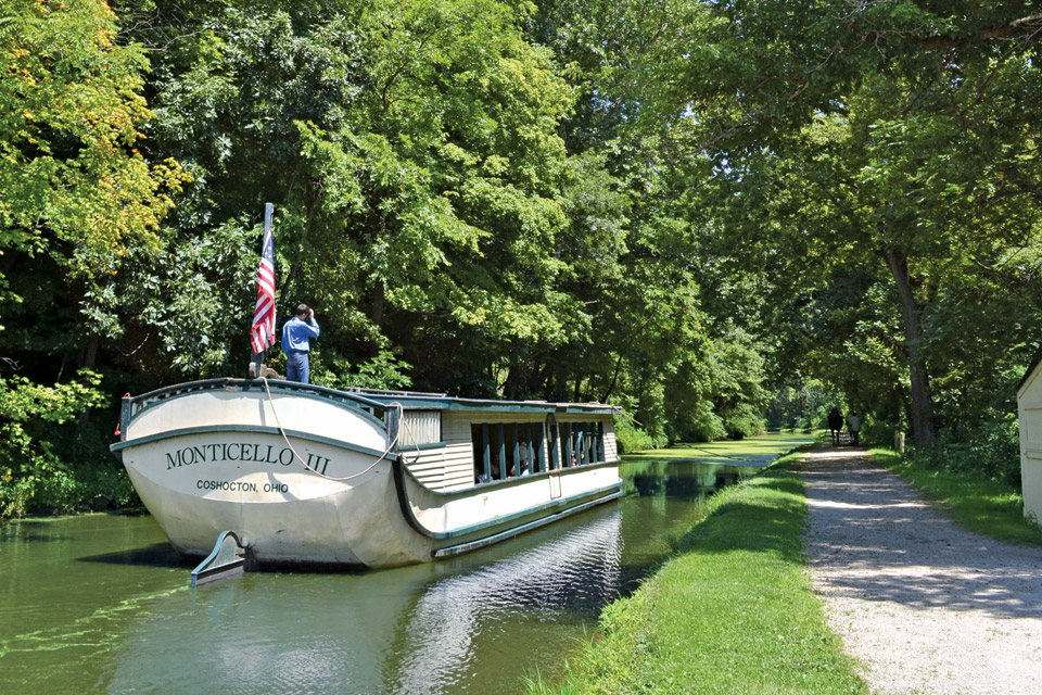 Coshocton's canal boat ride