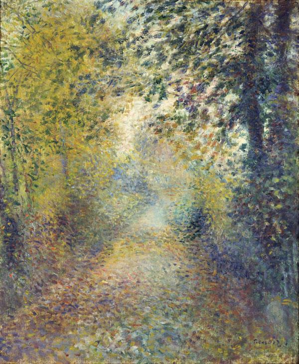"""Pierre-Auguste Renoir's """"In the Woods"""""""