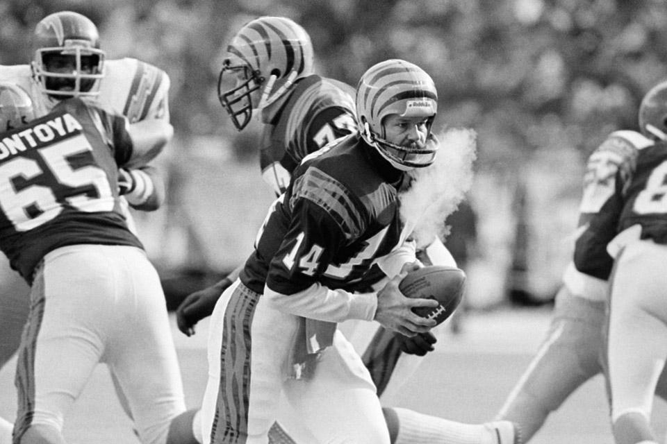 Bengals versus Chargers-1982 Freezer-bowl