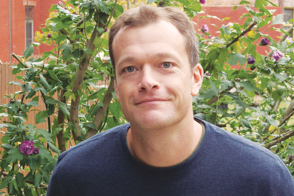 Headshot of Chris Bachelder