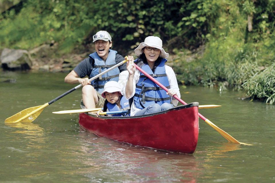 Canoeing in the Hocking Hills