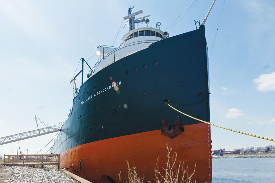 The Col James M. Schoonmaker ship