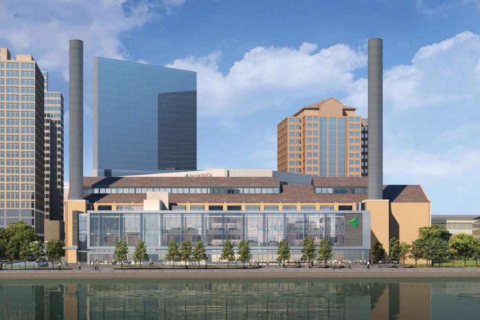 The new ProMedica facility in Toledo