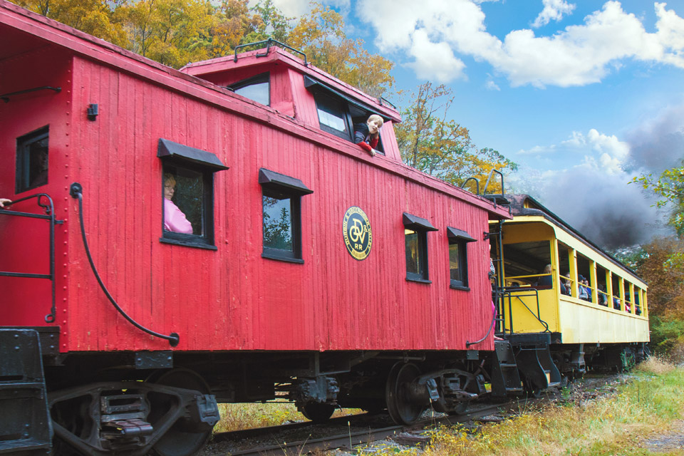 West Virginia's Castaway Caboose