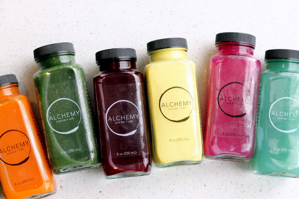 Some of the healthy offerings at Alchemy