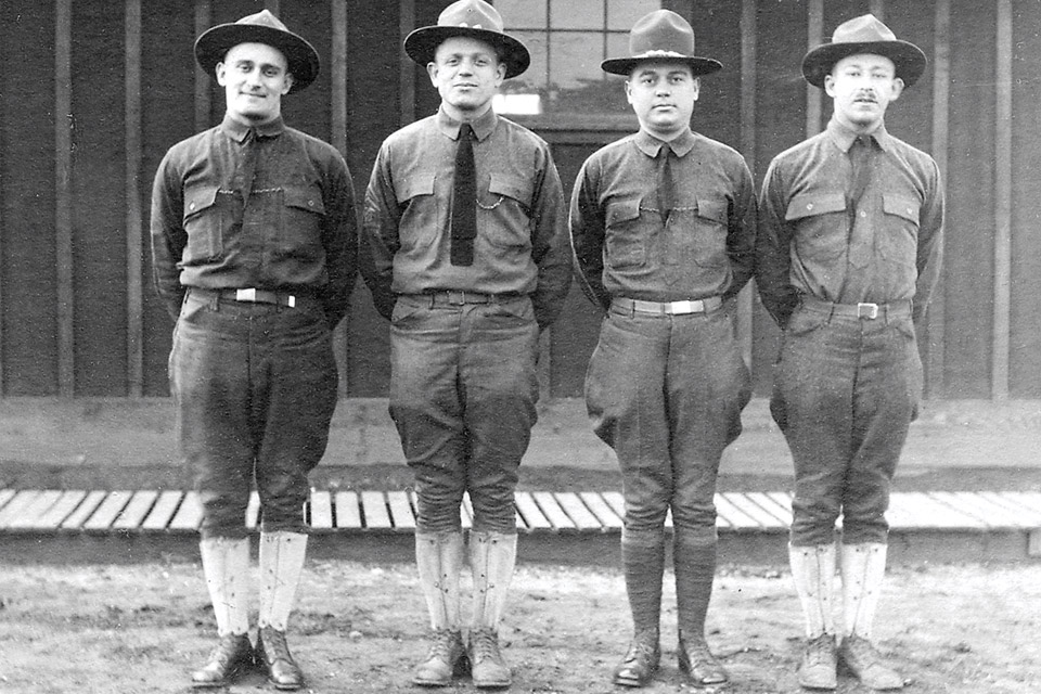 Officers at Camp Sherman