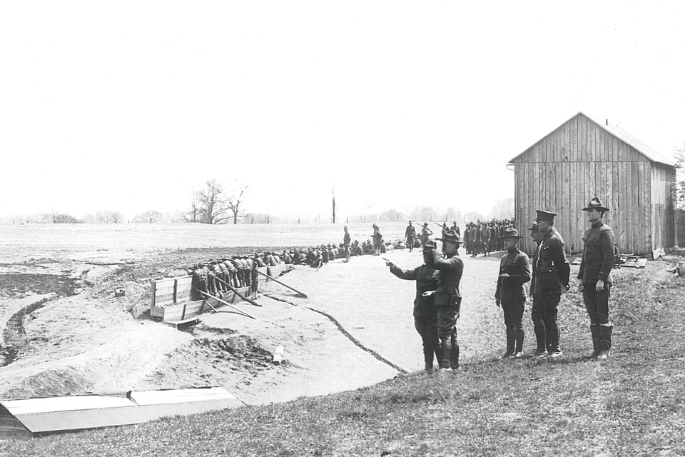 Camp Sherman's Rifle Range