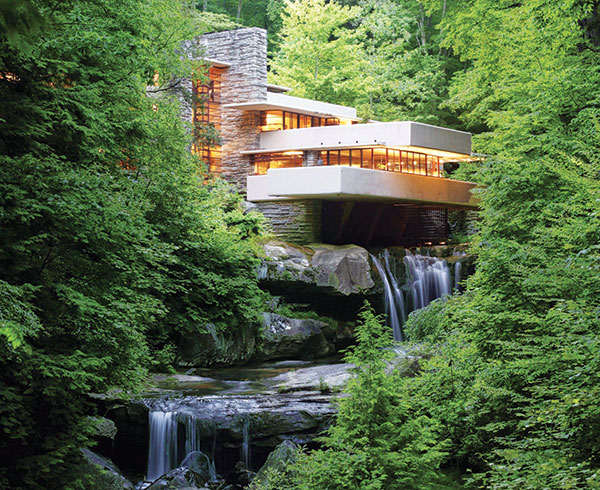 Fallingwater in Pennsylvania's Laurel Highlands
