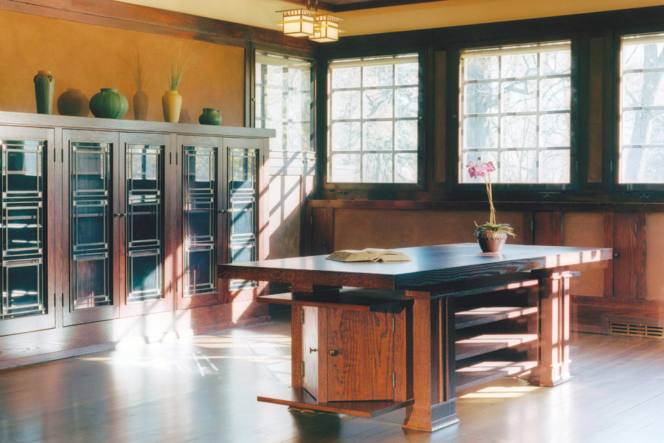FLW_Westcott-House.-Reception-Room.-Photo-by-Brad-Feinknopf.