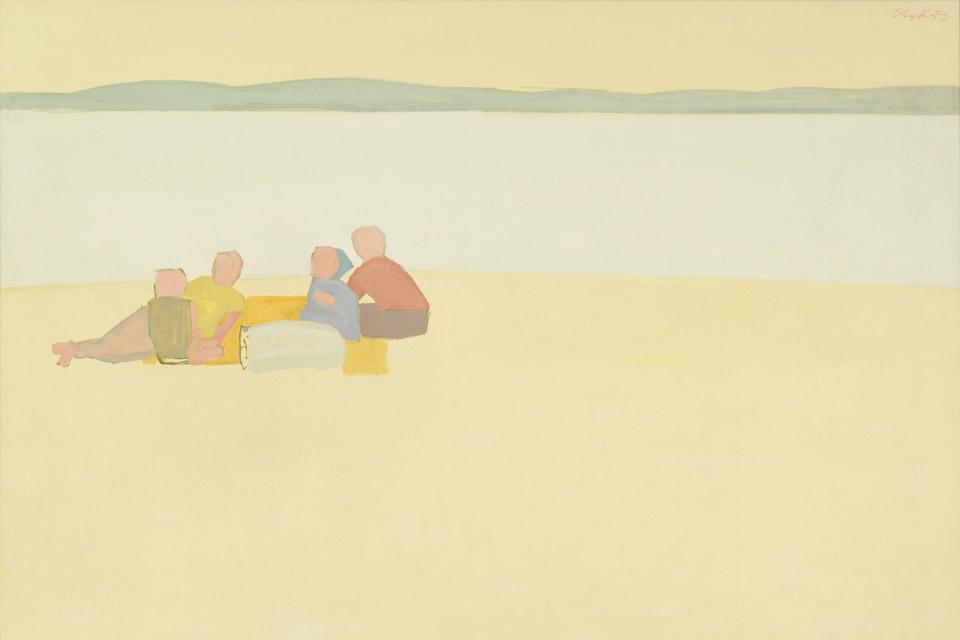 """Alex Katz's """"Lincolnville Beach"""""""