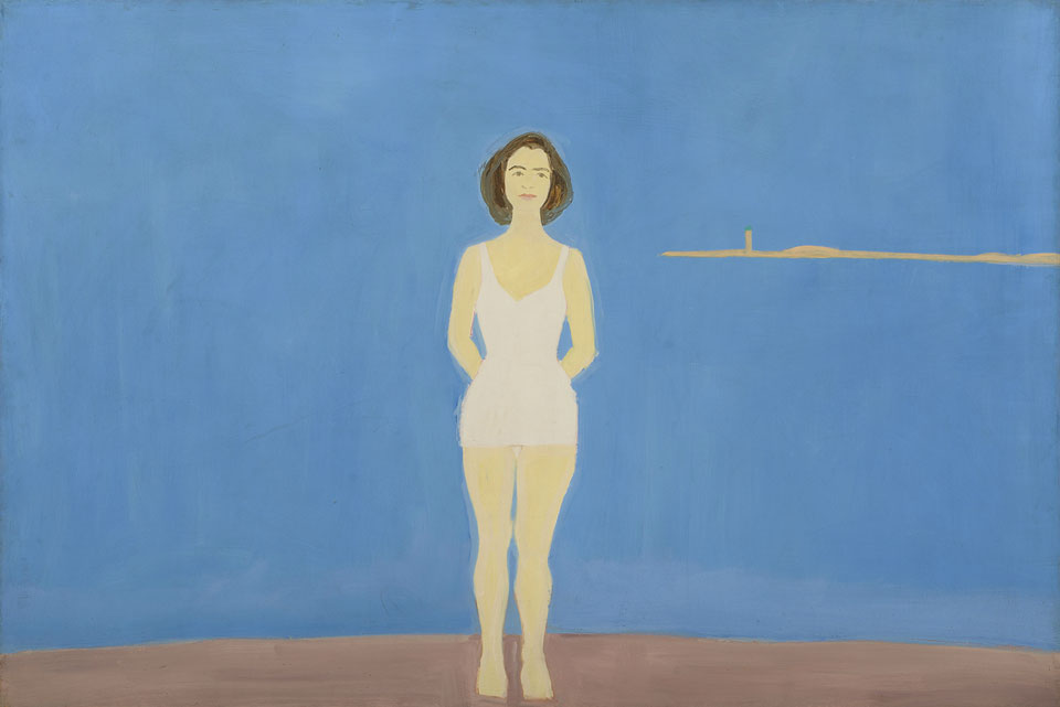 "Alex Katz's ""Bather"""