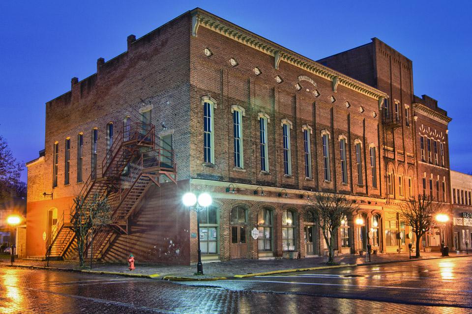 Stuart's Opera House in Nelsonville