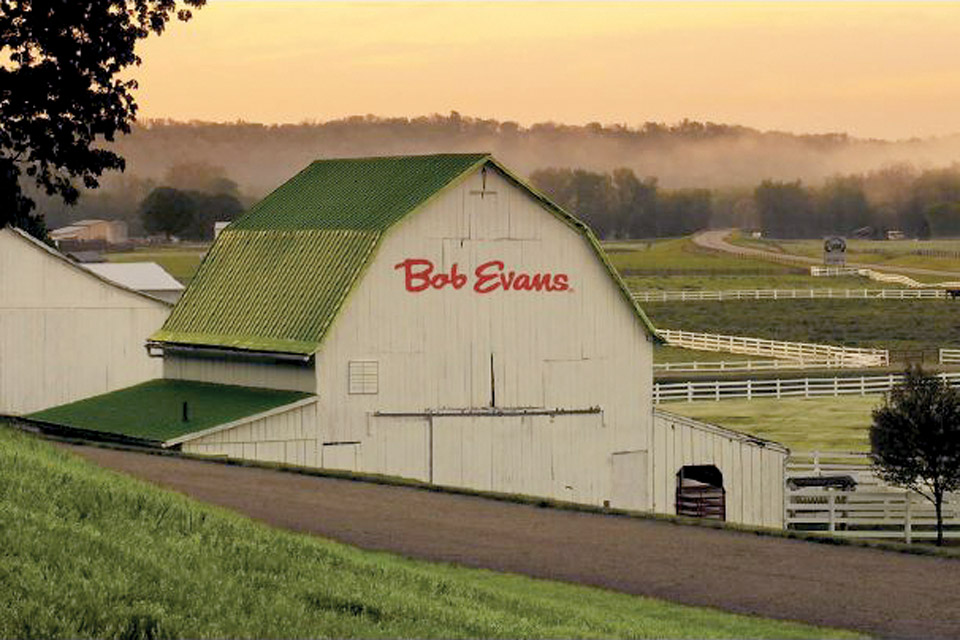 Bob Evans' family farm