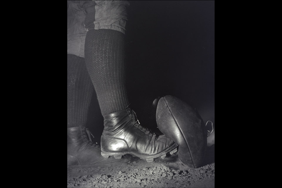 "Harold Edgerton's ""Football Kick"""
