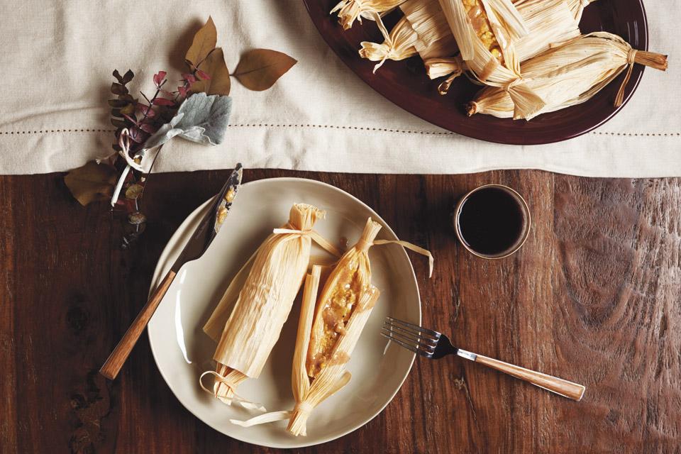 Butternut Squash Tamales