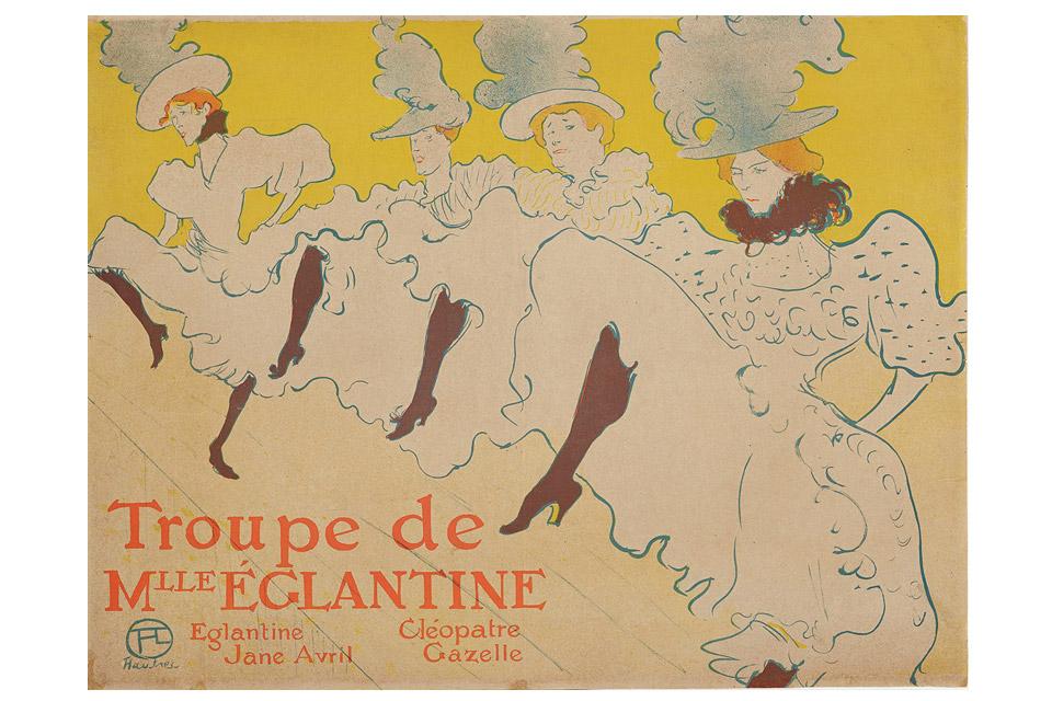 """Henri de Toulouse-Lautrec's """"Troupe Mademoiselle Eglantine"""""""
