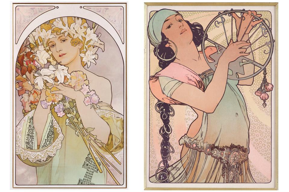 """""""La Fleur"""" and """"Estampe Moderne"""""""