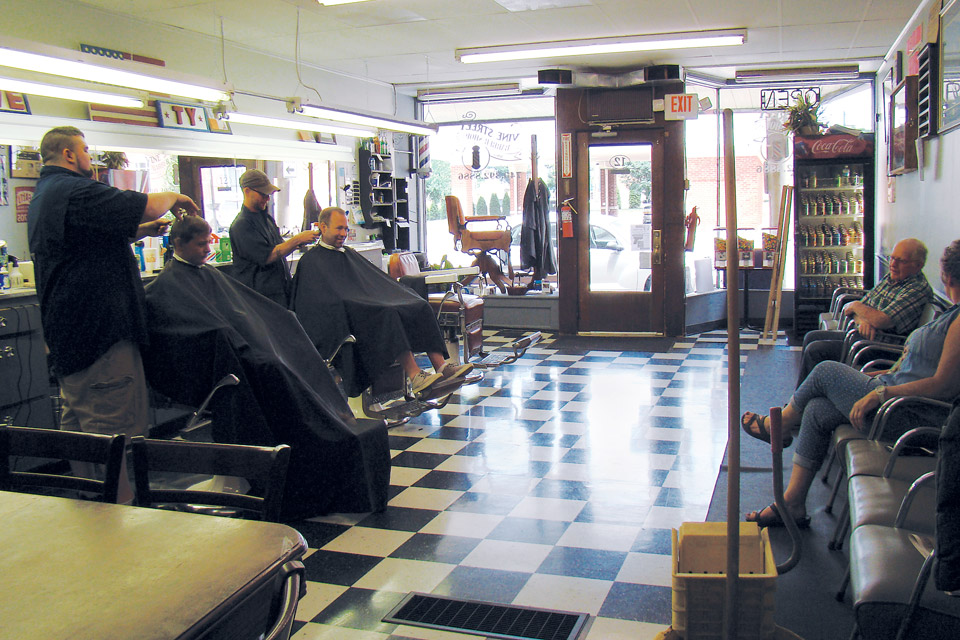 Mount Vernon's Vine Street Barber Shop